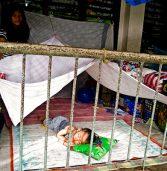 CDO: Flood victims at school