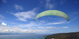 Paragliding in Saragani province. Photo courtesy of Cocoy Sexcion / SARANGANI INFORMATION OFFICE