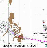 Typhoon Pablo Update
