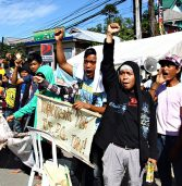 Hundreds protest MGB Caraga to push anew TEPO implementation
