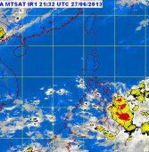 """Tropical Depression """"Gorio"""" as of 4a.m."""