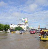Flood on Poll Day