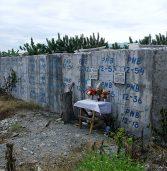 Mass grave in New Bataan