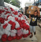 Aid for typhoon victims