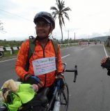 FROM BACLARAN TO ILIGAN: Biking priest takes break in Tacloban Monday; moves to Mindanao by Tuesday