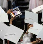 Graduation 'groupie'