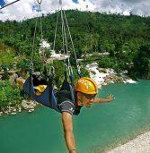 Aliwagwag Falls' zipline