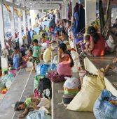Surigao Sur Evacuees