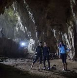 Trekking the caves and waterfalls of Hindang