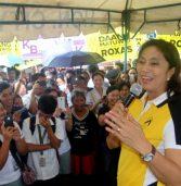 Robredo in Surigao City