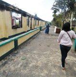 Burned School
