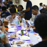 Young Christians join Muslims in Cotabato City for Iftar