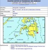 Magnitude 6.5 quake jolts Davao City, neighboring areas