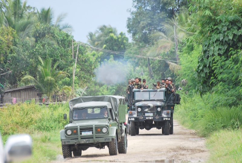 Gunmen attack Philippine village near war-torn city