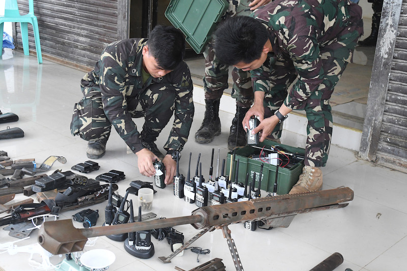 PH, China eye joint military drills to combat terrorism