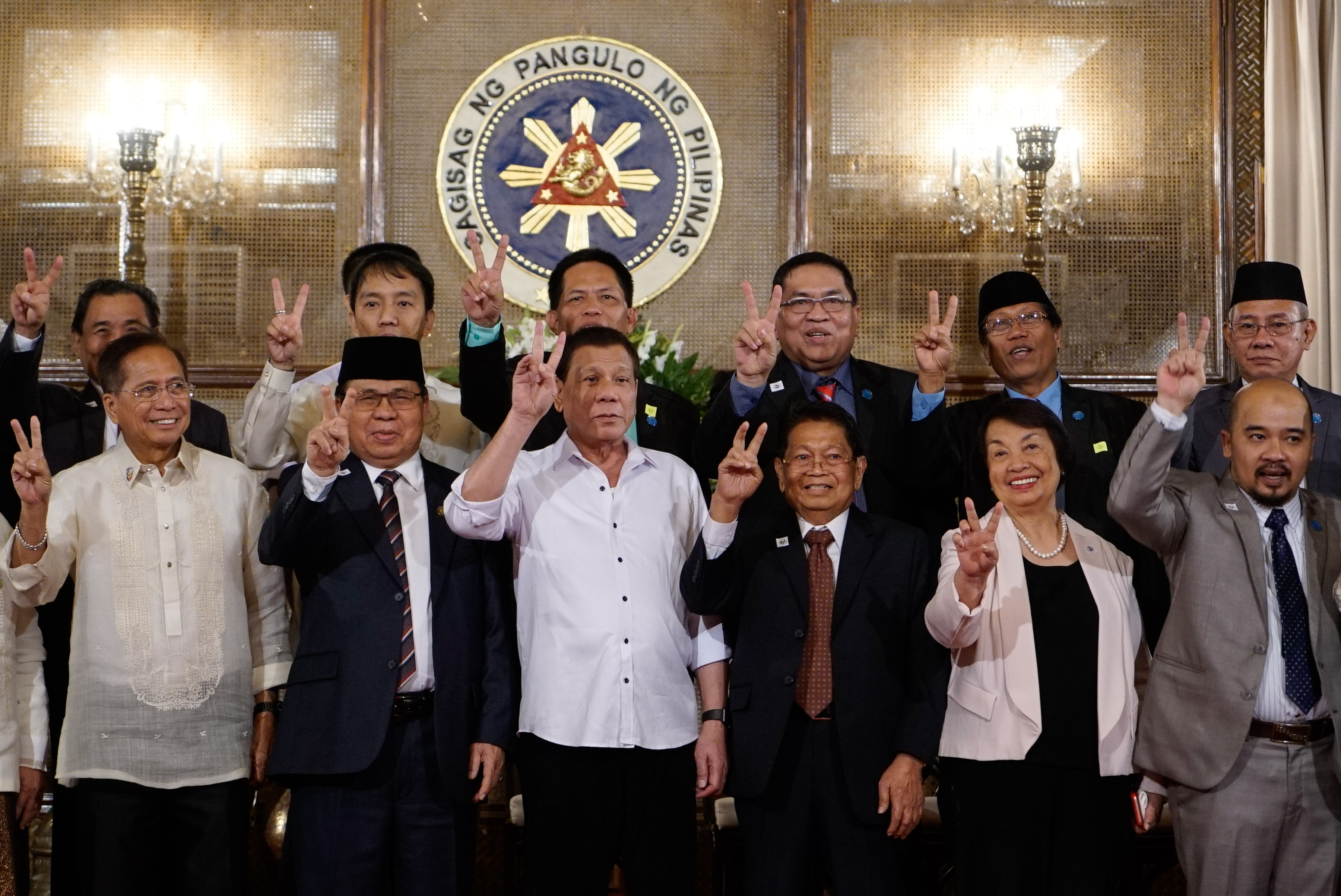 Duterte There Shall Be A Bangsamoro Country Mindanews