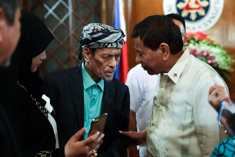 Nurs Mnlf Will No Longer Submit Proposed Armm Amendatory Law Will