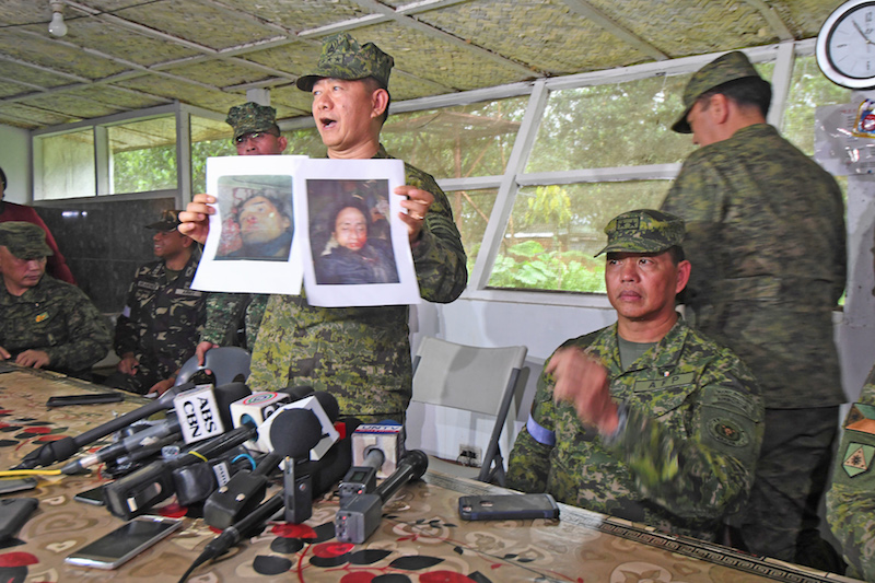Federal Bureau of Investigation confirms Hapilon's death through DNA test - Lorenzana